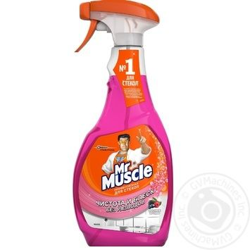 Mr. Muscle  Means Berries for washing glass 500 ml - buy, prices for Novus - image 1