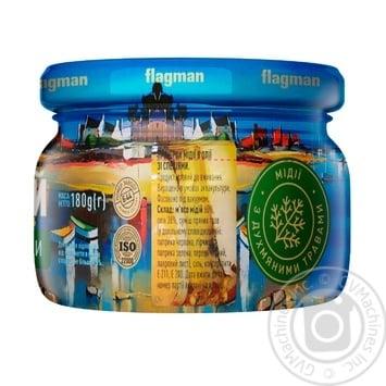 Мидии Flagman в масле с травами 200г - купить, цены на Фуршет - фото 2