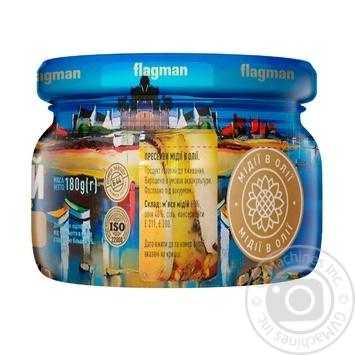 Мидии Flagman в масле 200г - купить, цены на МегаМаркет - фото 2