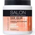 Маска для волоссся Salon Professional Глибоке відновлення 500мл - купити, ціни на Novus - фото 1