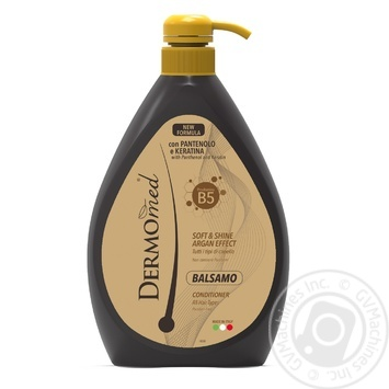 Dermomed Argan With Keratin Hair Balsam 600ml - buy, prices for Novus - image 1