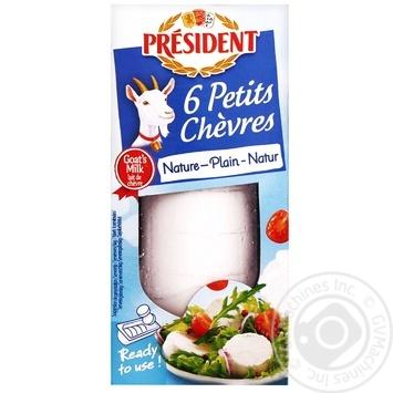 Сир President з козячого молока 45% 100г - купити, ціни на Метро - фото 1