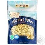 Сир Vilkyskiu Memel Blue з блакитною пліснявою подрібнений 40% 100г