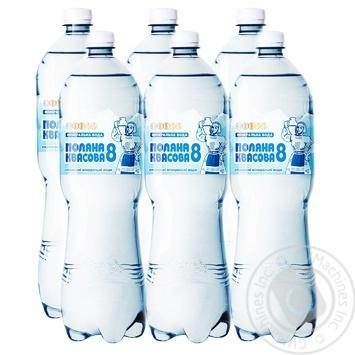 Polyana kvasova №8 carbonated water 1500ml