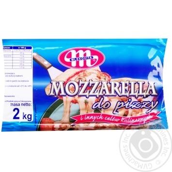Сыр Mlekovita Моцарелла 38% - купить, цены на Метро - фото 1