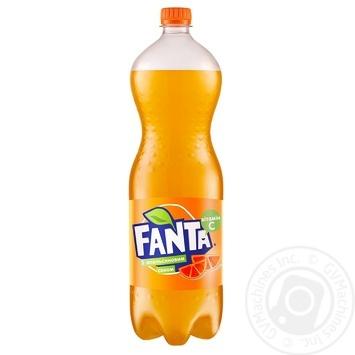 Напиток Фанта Апельсин 1,5л - купить, цены на МегаМаркет - фото 1