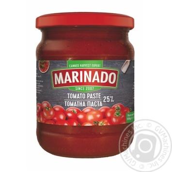 Tomato paste Marinado tomato 500g glass jar - buy, prices for Novus - image 1