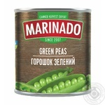 Vegetables pea Marinado canned 420g can