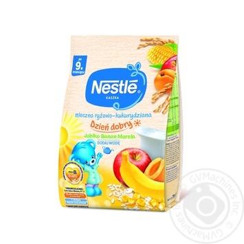 Nestle Baby Milk Rice Corn Porridge With Apple Banana Apricot - buy, prices for Furshet - image 1