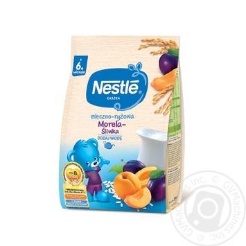 Молочная каша Nestle Рисовая со сливой и абрикосом 230г