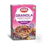 Мюсли АХА Гранола хрустящие медовые с ягодами 270г