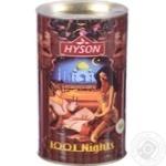 Чай Hyson 1001 ночь черный/зеленый 100г