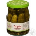Z Babusynoyi Hryadky Pickled Cucumbers 500g