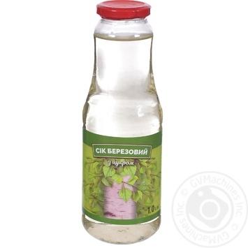 Birch Juice with Sugar 1l