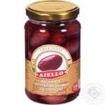 Aiello Red Olives with Bones 350g