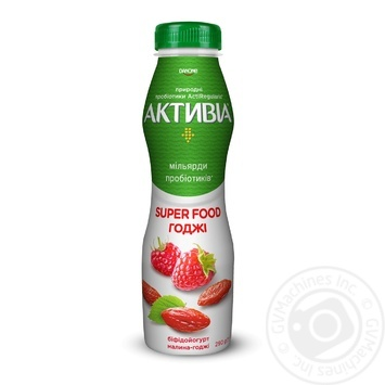 Activia with raspberry-goji yogurt 1,5% 290g - buy, prices for MegaMarket - image 1