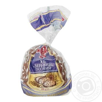 Хліб Зерновий нарізаний 300г - купити, ціни на Ашан - фото 1