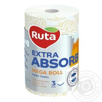 Ruta Selecta Mega roll Paper towels - buy, prices for Novus - image 1