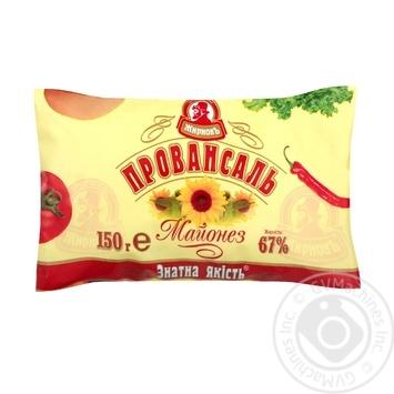 Майонез Жирновъ Провансаль 67% 150г - buy, prices for Auchan - photo 1
