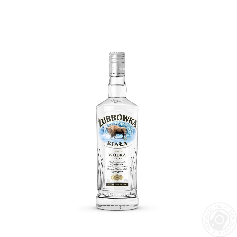 Водка Zubrowka Biala 0,7л