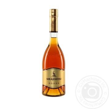Sarajishvili 5* Cognac 40% 0.5l - buy, prices for Auchan - photo 2