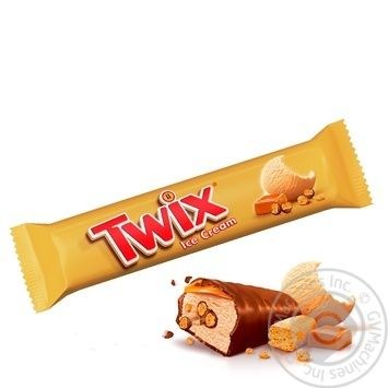 Twix Ice Cream with Caramel and Biscuits 40g - buy, prices for MegaMarket - image 1