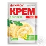 Крем для торта Украса со вкусом банана 70г