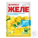 Желе Украса вкус лимона 90г