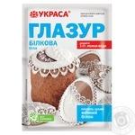 Глазур Украса білкова 100г