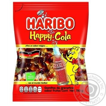 Конфеты желейные Haribo Хэппи Кола 80г