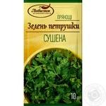 Зелень петрушки Любисток сушенная 10г