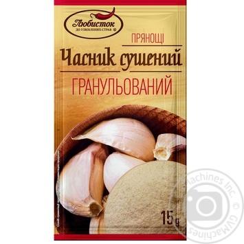 Часник сушений гранульований Любисток 15г - купити, ціни на Novus - фото 1