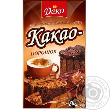 Deko Cocoa Powder 80g