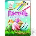 Набір харчових барвників Добрик Пастель з олівцями для яєць