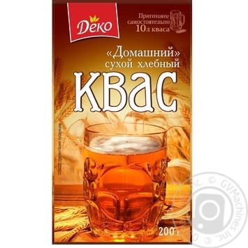 Квас Деко Домашний сухой хлебный 200г - купить, цены на Varus - фото 1
