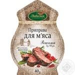 Приправа Любисток Рецепты от шефа к мясу б/соли 40г
