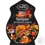 Приправа Любисток Гриль експерт для картоплі та овочів 30г - купити, ціни на Фуршет - фото 1