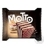 Вафли Mymotto тирамису 34г - купить, цены на Ашан - фото 1