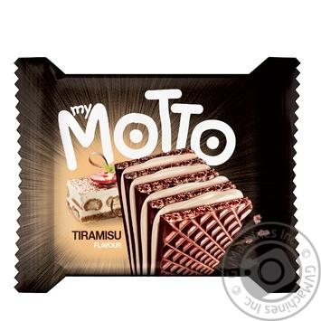 Mymotto tiramisu waffles 34g - buy, prices for Tavria V - image 1