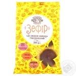 Зефір Богуславна зі смаком лимону глазурований 200г