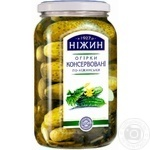 Nezhin Pickled Nezhin Style Cucumbers - buy, prices for MegaMarket - image 1
