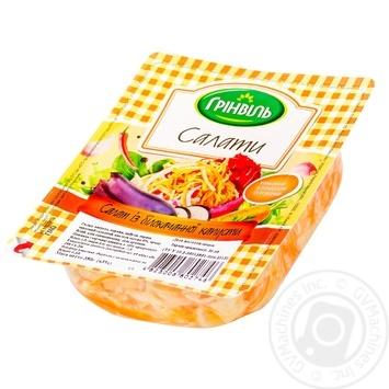 Салат Гринвиль из белокачанной капусты 350г - купить, цены на Novus - фото 1
