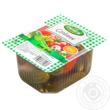 Ассорти овощное Гринвиль 850г - купить, цены на Ашан - фото 1