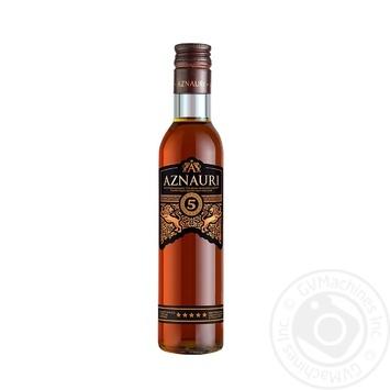 Aznauri Cognac 5* 0,25l - buy, prices for Auchan - photo 1