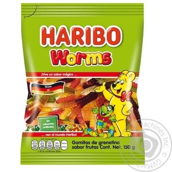 Цукерки желейні Haribo Worms 150г - купити, ціни на CітіМаркет - фото 1