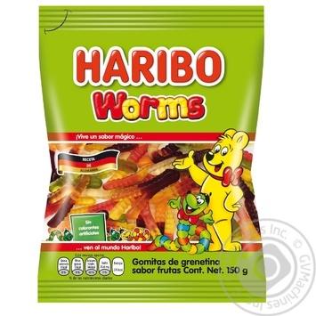 Конфеты желейные Haribo Worms 80г - купить, цены на Восторг - фото 1