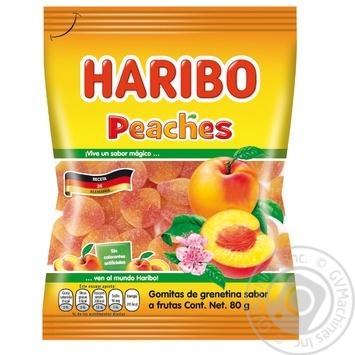 Конфеты желейные Haribo с фруктовым вкусом 80г - купить, цены на СитиМаркет - фото 1