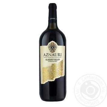 Вино Aznauri Алазанська долина біле напівсолодке 9-13% 1,5л