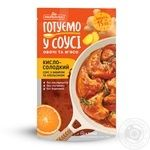 Prypravka Sweet and sour Sauce with ginger and orange 140g