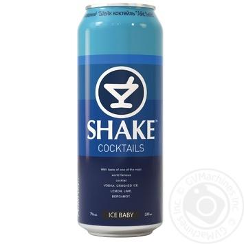 Напій слабоалкогольний Shake Айс Бейбі 7% 0,5л - купити, ціни на Метро - фото 1